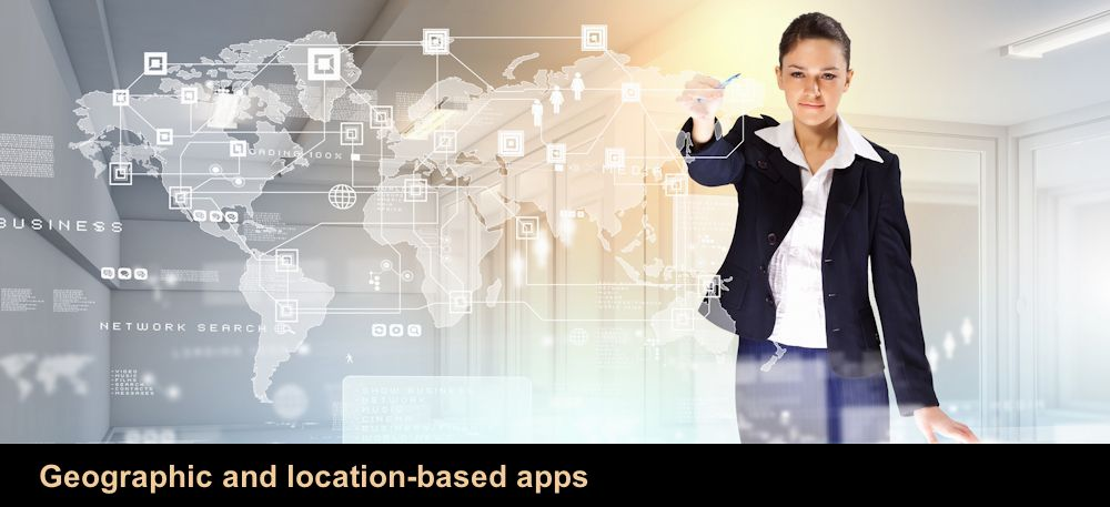 Geographic and location-based apps
